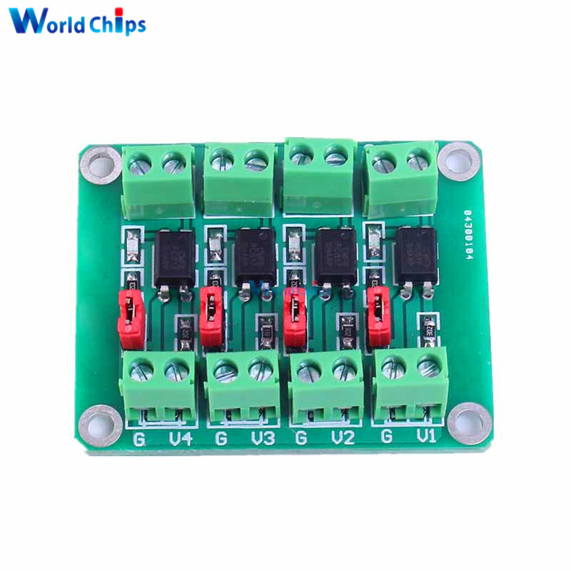 PC817 4 Channel Optocoupler Isolation Board Voltage Converter Adapter Module 3.6-30V Driver Photoelectric Isolated Module PC 817 new garmin watch 2019