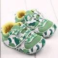Los bebés de la PU de cuero infantiles del prewalker suave suela del zapato marca niño primeros zapatos del caminante