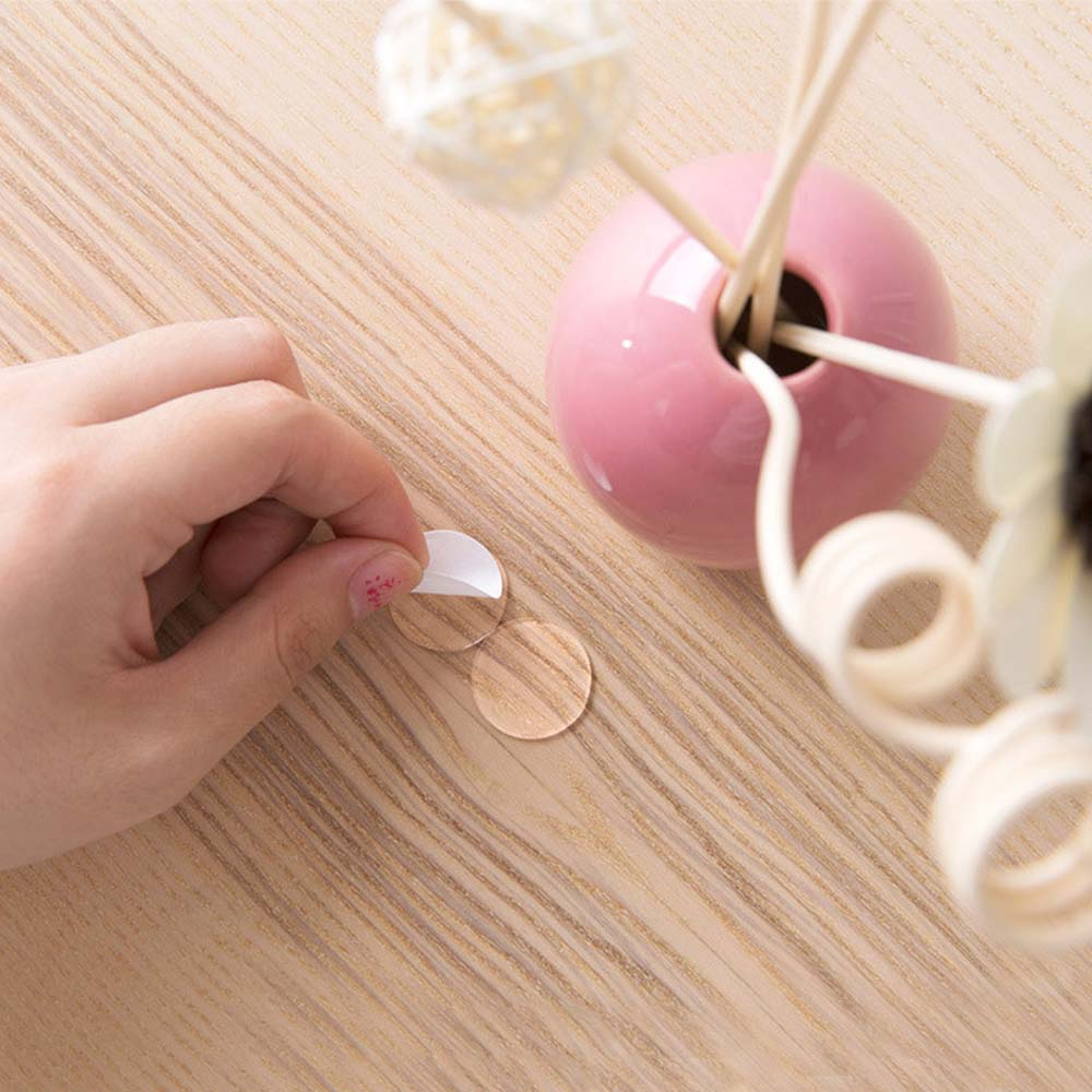 70Pcs Transparent Round Sided Self-adhesive Double Sided Round Solid Household Tape for Wall Stickers Balloon Party Tool set image