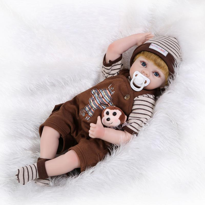 55cm NPKCOLLECTION Silicone reborn baby doll toys play house plush toy girls brithday gifts girl brinquedos baby-reborn boy doll 23full silicone vinyl reborn baby doll toys play house reborn girl boy babies kids child brithday christmas gift girls brinqued