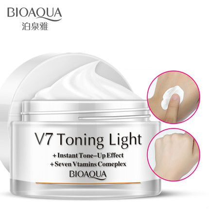 V7 Whitening Day Cream Face Cream Moisturizier Dark Spot Freckle Cream Skin Whitening Anti Aging Concealer Sunscreen Face Care