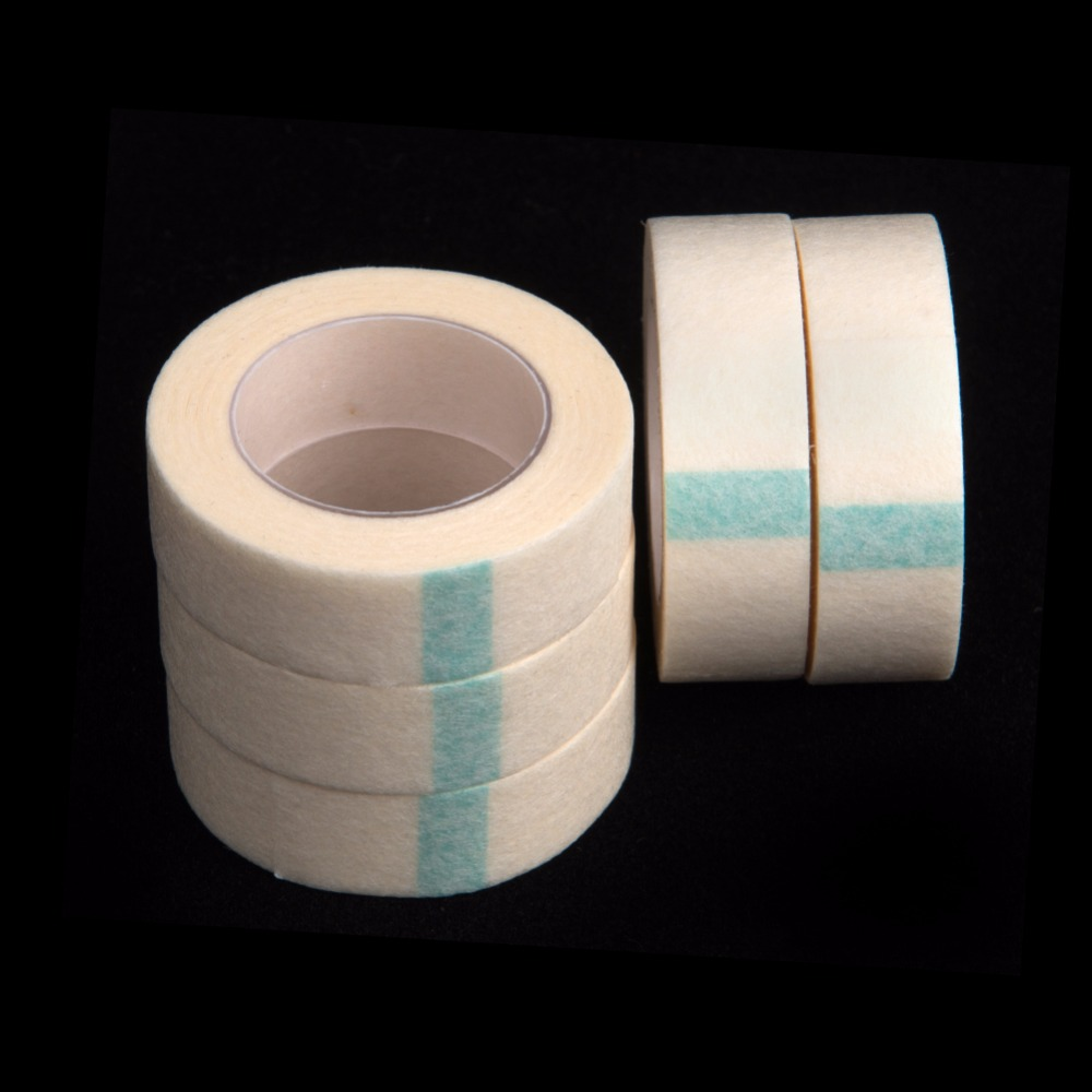 5pcs/lot Micropore Surgical Tape Thin and Soft Best Quality Tape for Eyelash Extensions  ...