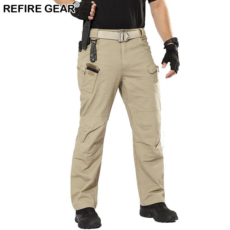 68c97b447 ReFire Gear IX7 Нові тактичні штани Чоловіки на відкритому повітрі ...