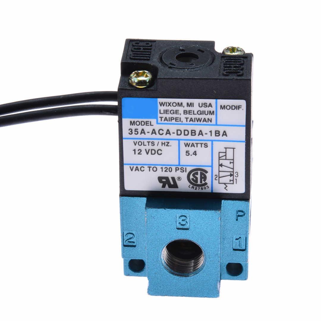 1pc 35A-ACA-DDBA-1BA 3 Port impulso electrónico válvula solenoide de control DC12V 5,4 W válvulas de solenoide neumática a Mayitr nuevo