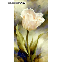 NEW 5D Diamond Painting Flowers Kit Cross Stitch Square Drill Diamond Embroidery Needlework Room Decoration Peony