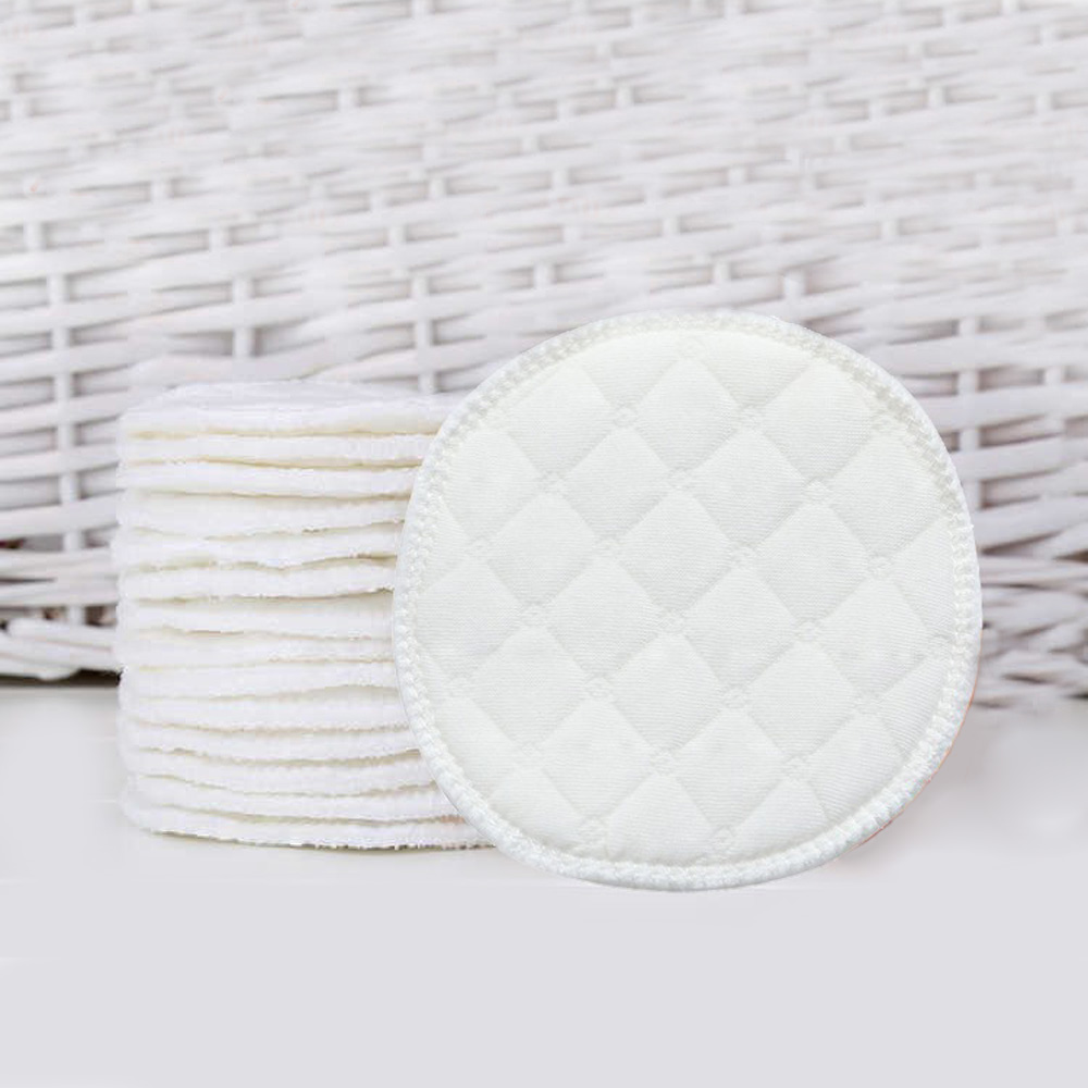 10pcs Baby Feeding Nipple Pads Washable Nursing Pad Soft Absorbent Reusable Nursing Anti-overflow Maternity Breast Pad Accessory 1
