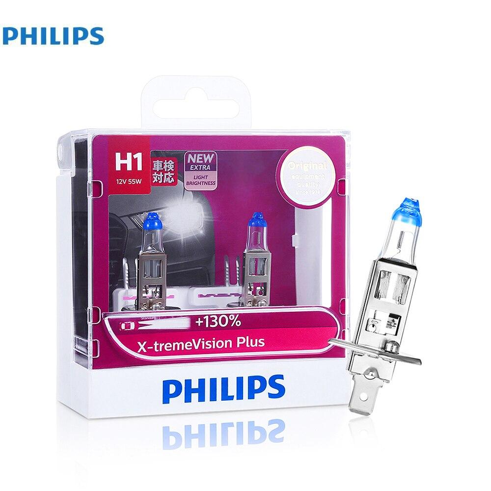 philips pair of h1 h4 h7 x tremevision plus halogen light. Black Bedroom Furniture Sets. Home Design Ideas