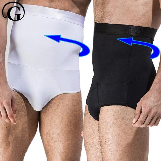 PRAYGER Slimming Belly Control Panties Men High Waist Cinchers Abdomen Body Shapers Tummy Trimmer Butt Lift Shaper Underwear