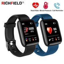 Fitness Tracker Smart Bracelet Blood pressure Watch Heart Rate Sleep Monitor Call Reminder SmartBand Health Wristband Smart Band цена