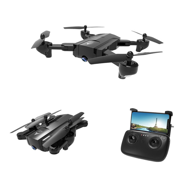 Mini Drone GPS Quadrocopter Drones with Camera HD Foldable RC Dron Follow Me Auto Return Profissional