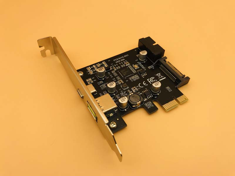 Add On Cards USB Expansion Card PCIE Sata/Card PCIE USB Adapter USB3 PCIE USB 3.1 PCI-E USB-C 2.4A Computer Expansion Cards NEW