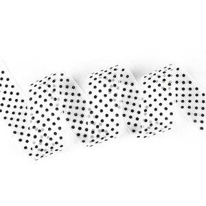 Разные цвета, Ширина 28 мм, 5 ярдов/10 ярдов, кружевная лента в горошек из органзы, сделай сам, для упаковки, аксессуары для шитья одежды с бантом