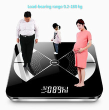 Charging Household Weight Scale Small Intelligent Loss Adult and Infant Electronic Bathroom Scales free shipping