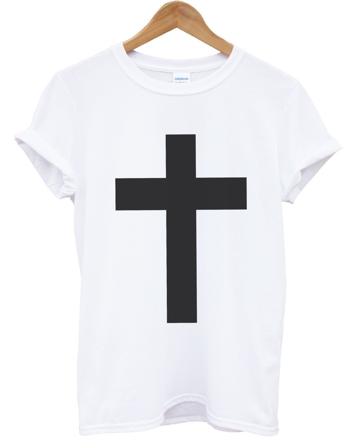 Cross T Shirt Religion Christian Urban Top Mens Kids Womens Apparel Fresh Jesus Free shipping Tops t shirt Fashion in T Shirts from Men 39 s Clothing