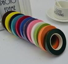 25Meter Paper Garland Tape Artificial Flower Fixed Supplies For Wedding Decoration DIY Wreath Flores Garland Supplies Tape Glue