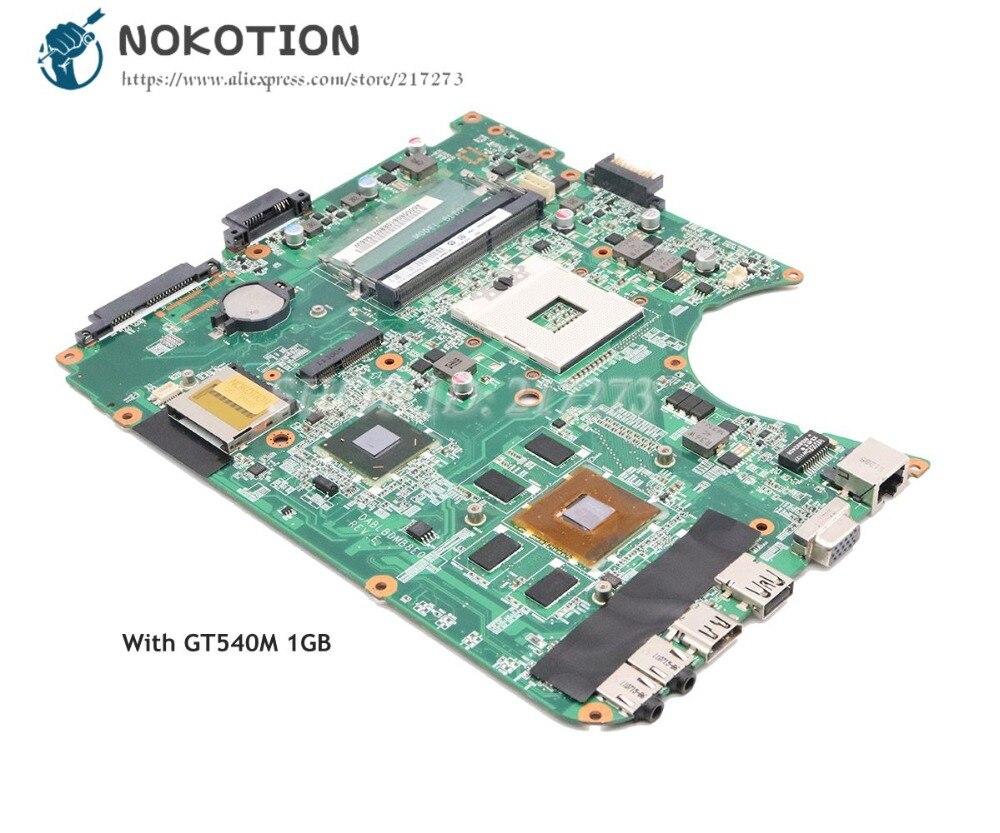 Scheda Madre Del Computer Portatile Per Toshiba Satellite di NOKOTION L750 L755 SCHEDA PRINCIPALE A000080810 DABLBDMB8E0 DDR3 GT540M 1 gbScheda Madre Del Computer Portatile Per Toshiba Satellite di NOKOTION L750 L755 SCHEDA PRINCIPALE A000080810 DABLBDMB8E0 DDR3 GT540M 1 gb