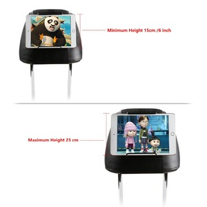 Image 2 - タブレット車のホルダータブレット Pc ホルダー車のヘッドレストマウントサポートアップル ipad 、 ipad のミニ、空気、プロと三星銀河タブ