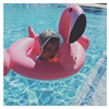 Baby Inflatable Flamingo Pool Float Pink Ride-On Swimming Ring White Swan Floating Water Holiday Party Toys For babies Piscina 1