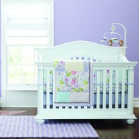 Cotton Soft Baby Bedding Sets Include crib skirt/ Sheet/Quilt / Baby Bumpers