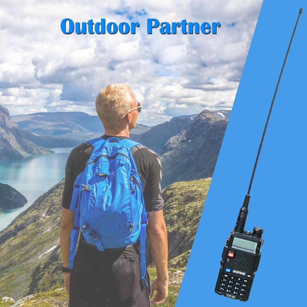Baofeng NA-771 Gain Antenne NA 771 Antenne Talkie-walkie SMA-F 39cm UHF VHF Amplificateur de Signal pour UV-5R BF-888S UV-82