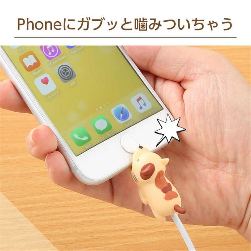 مضحك كابل شحن الهاتف دغة التبعي يحمي Chompers دمية على شكل حيوان نموذج الكمامة اللعب دغة كابل يو اس بي أداة دروبشيبينغ BH02
