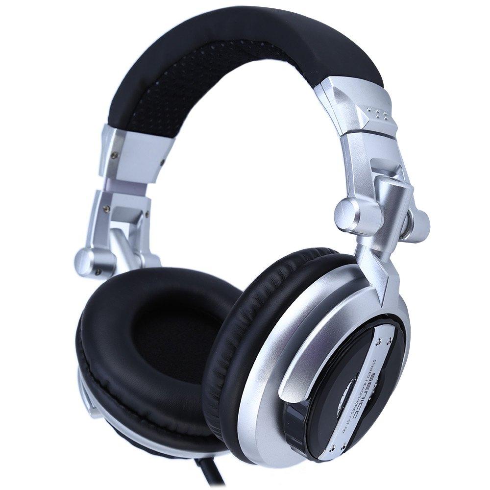 Somic ST-80 Music Headset Headphones Professional Monitor HiFi Subwoofer Enhanced Super Bass Noise-Isolating DJ Microphone somic g929 sorround sound noise isolating powerful bass hifi music computer gaming 3 5mm headset headphones for cs cf dota lol