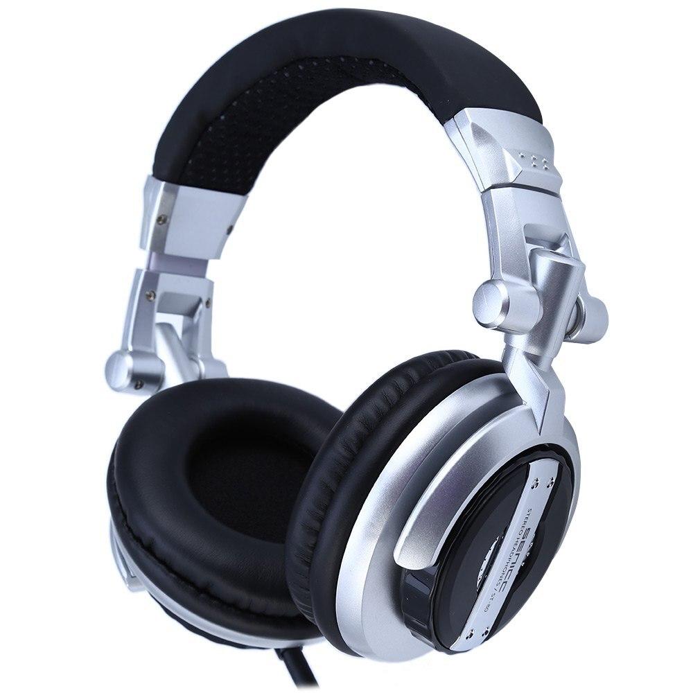 Somic ST-80 Musique Casque Casque Professionnel Moniteur HiFi Subwoofer Enhanced Super Bass à Isolation Phonique DJ Microphone