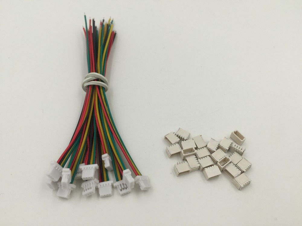 5 Sets Mini Micro Sh 1 0 4 Pin Jst Connector With Wires