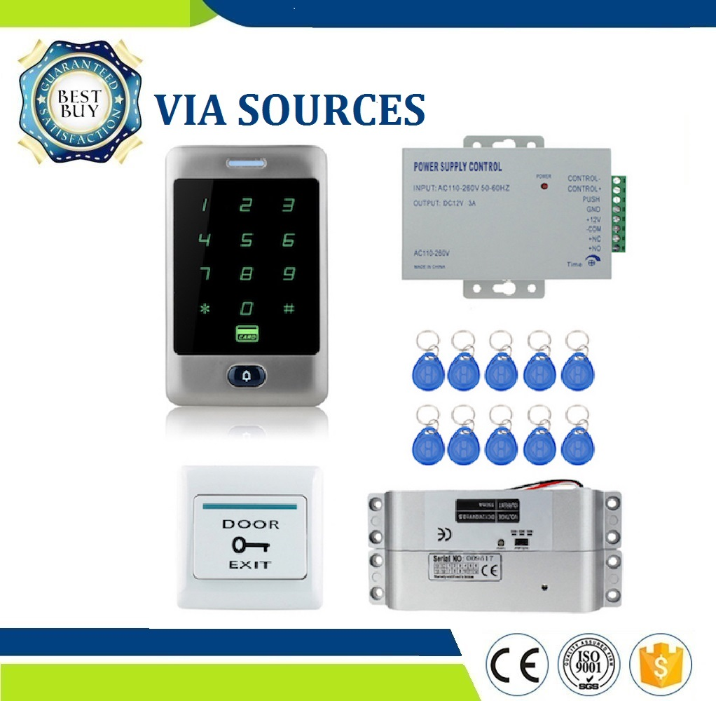 Direct Factory Touch Waterproof Metal Access Controller System 12VDC NC/NO Electric Bolt Lock /Magnetic Lock for Security doorDirect Factory Touch Waterproof Metal Access Controller System 12VDC NC/NO Electric Bolt Lock /Magnetic Lock for Security door