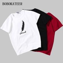 BOBOKATEER tee shirt femme plus size t shirt women t-shirt embroidery white tshirt women summer top camisetas mujer verano 2018