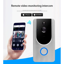 Wireless Security Camera Wireless Doorbell Ring Chime Door Bell Video Camera WiFi 720P Waterproof IR Night Vision Two Way Audio