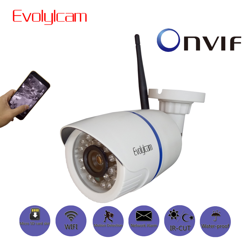 Evolylcam HD 1080P Wireless IP Camera WiFi P2P Onvif 720P 960P CCTV Security Surveillance With Micro SD/TF Card Slot CamHi Cam