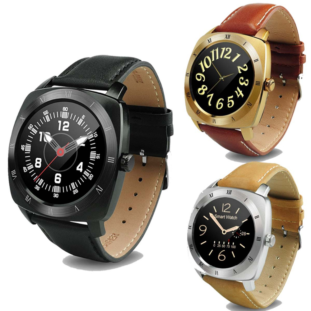 SunKinFon DM88 Bluetooth Smart Watch Android Smartwatch Waterproof Heart Rate Smart Electronics Watch Remind Camera for