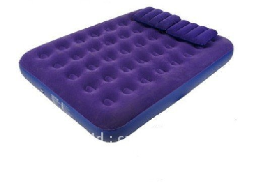 Free shipping Double size air bed ,air mattress ,pvc inflatable bed