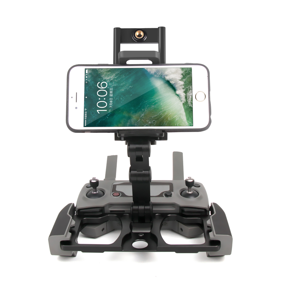 New Foldable Phone Tablet Bracket Mount Clip Holder for DJI Mavic2 Zoom/Pro Remote Control Monitor Holder Accessories foldable portable phone flat bracket