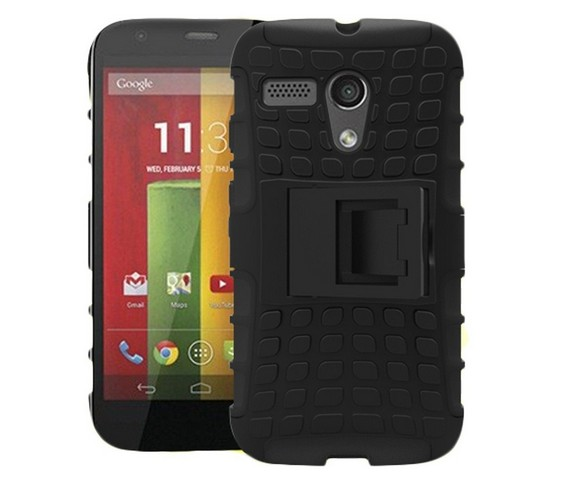 FORMix color For Motorola G DVX 4G LTE Dual Armor TPU&PC Mobile Cell Combo phone case with Stand Shock Proof For MOTO G