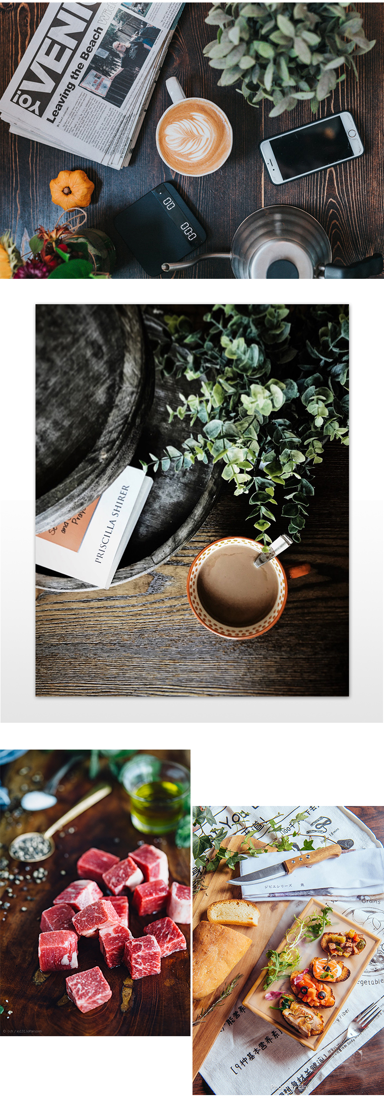 InstaHero.Store | 58X86cm 2 - Sided Photography Wood Backdrops  | 27