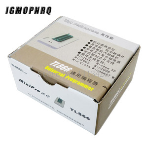 Image 1 - V7.05 TL866II בתוספת ה BIOS USB האוניברסלי מתכנת ICSP Nand פלאש EEPROM 1.8V 24 93 25 טוב יותר מ TL866A TL866CS