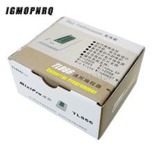 V7.05 TL866II más BIOS programador Universal USB ICSP Nand FLASH EEPROM 1,8 V 24 93 25 mejor que TL866A TL866CS