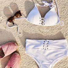 Phaixoneible 2019 New High Waist Bikini Push Up Swimwear Women Swimsuit Sexy Bathing Suit Female Beachwear