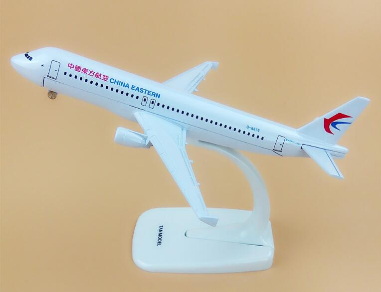 Alloy Metal Air China Eastern A320 Airlines Airplane Model China Airbus 320 Airways Plane Model Stand Aircraft Kids Gifts 16cm ...