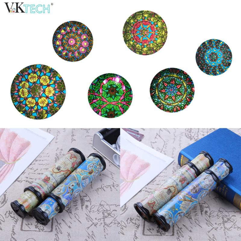 30cm Large Size Rotating Kaleidoscopes Colorful World Kids Children Preschool Toys Color Random