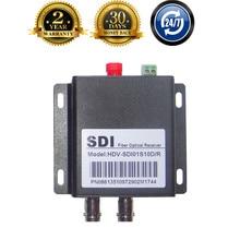 HD SDI Optical Transceiver Fiber Media Converter With RS485 Data BNC Fiber Optic To SDI Video