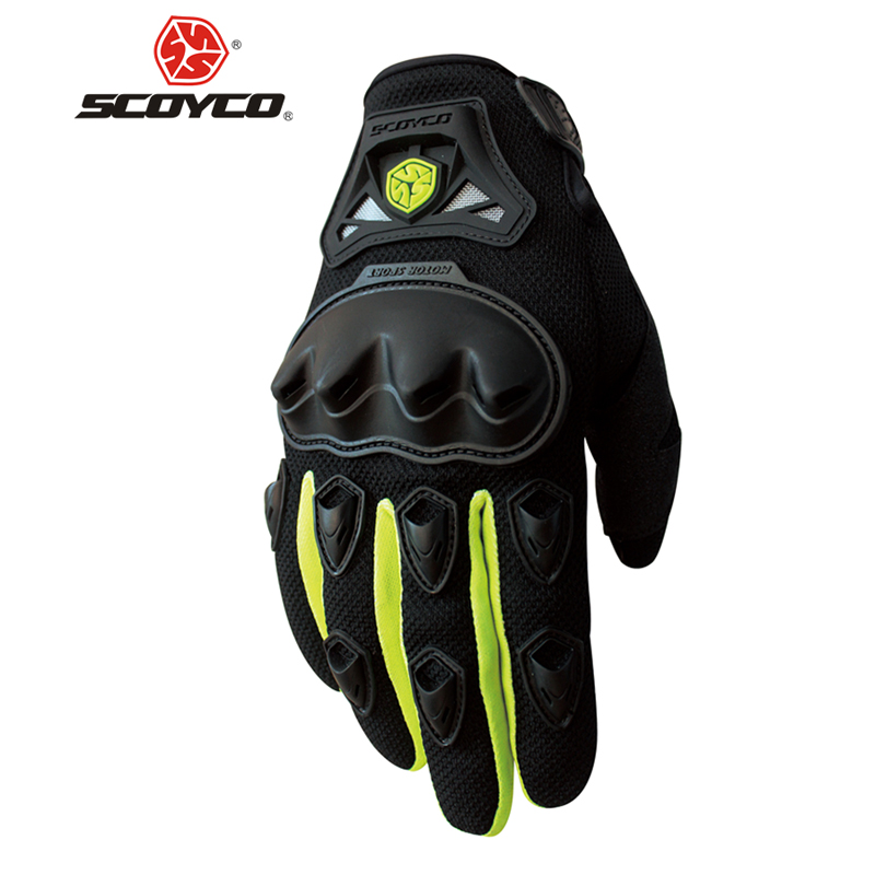 SCOYCO Motorrad Handschuhe Sommer Atmungs Tragbare Schutz Guantes Moto Luvas Alpine Motocross Sterne Gants Moto Sommer guant