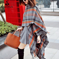 pashmina cashmere shawl Desigual Fashion luxury women colorful plaid scarves New Autumn & Winter Scarf Scarves Shawl Shawls