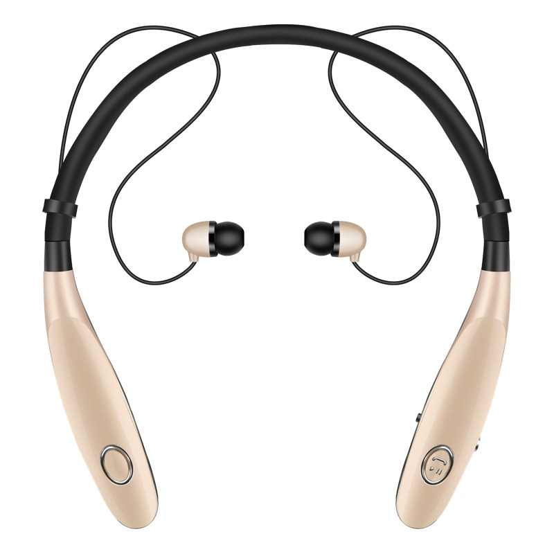 6f3bd3f15f3 Auriculares Bluetooth auriculares inalámbricos para correr deportes bajo  sonido inalámbrico oído teléfono con micrófono para Iphone