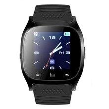 M26 M26 SmartWatch Bluetooth Relógio Inteligente com Display LED/discar/Alarme/Pedômetro para Telefones Android IOS Móvel pk GT08