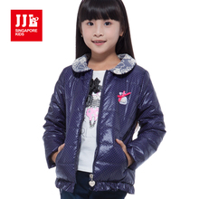 girls coat sweet kids brand jackets lace collar design children clothing winter new styles girls parka