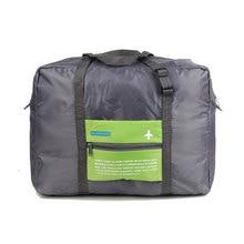 Men and Women Vintage Waterproof Nylon Luggage Travel Bags Large Storage Duffle Bag