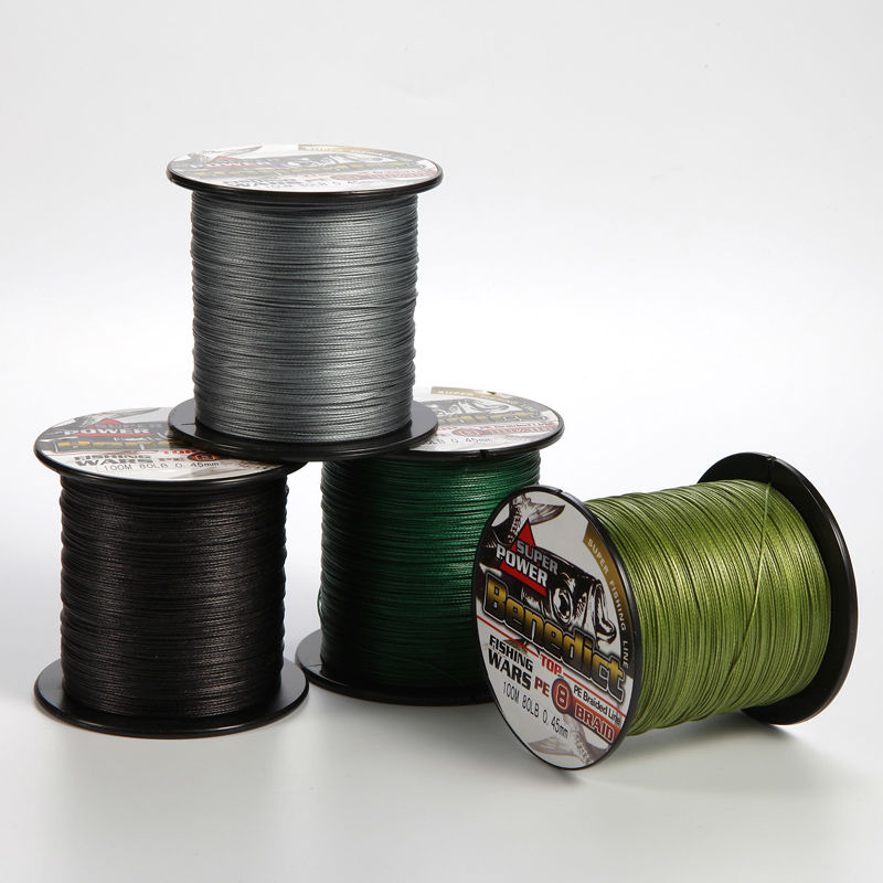 Buy new supper fishing cord 8 strands braided line 100m 0 for Online fishing store